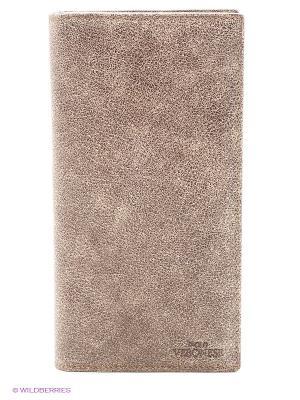 Купюрник мужской Paolo Veronese. Цвет: серо-коричневый