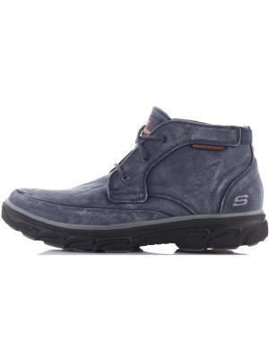 Ботинки SKECHERS. Цвет: голубой