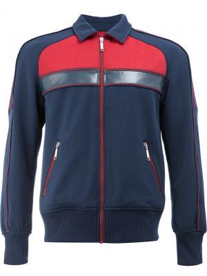 Спортивная куртка на молнии Junya Watanabe Comme Des Garçons Man. Цвет: синий