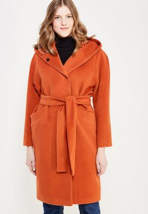 Пальто Demurya Collection. Цвет: оранжевый