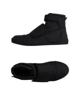 Высокие кеды и кроссовки ROMBAUT. Цвет: черный