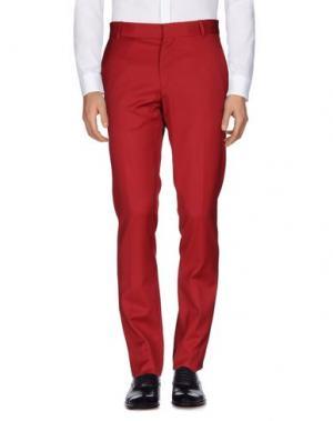 Повседневные брюки JEAN PAUL GAULTIER. Цвет: кирпично-красный