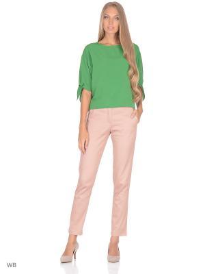 Блузка FLEURETTA. Цвет: зеленый