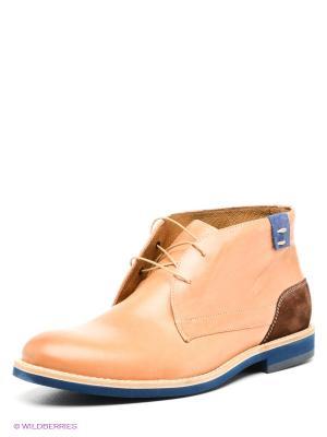 Ботинки Conhpol. Цвет: бежевый, коричневый
