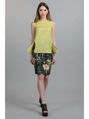 Блуза ЭНСО. Цвет: зеленый