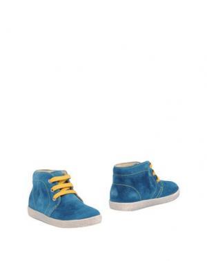 Полусапоги и высокие ботинки FALCOTTO. Цвет: цвет морской волны