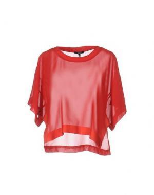 Блузка SIENNA. Цвет: красный