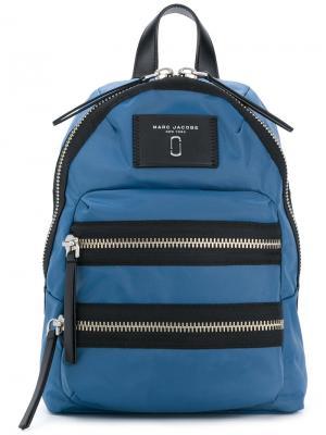 Байкерский рюкзак Marc Jacobs. Цвет: синий