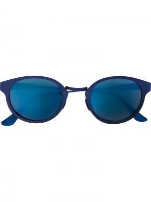 Солнцезащитные очки Panama Synthesis Retrosuperfuture. Цвет: синий