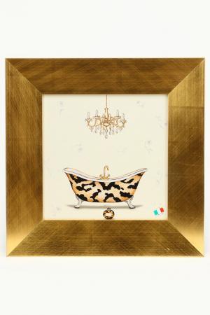 Постер Ванная комната F.A.L. Цвет: мультиколор