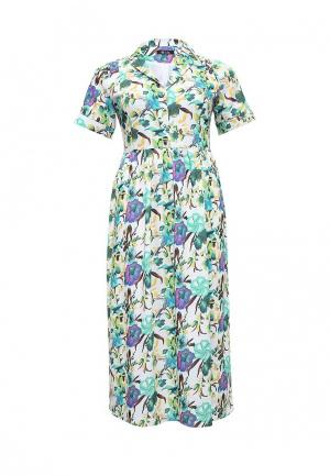 Платье Aelite. Цвет: разноцветный