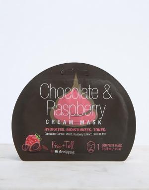 MasqueBAR Маска с малиной, шоколадом и сливками iN.gredients. Цвет: бесцветный
