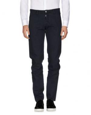 Повседневные брюки NICWAVE. Цвет: стальной серый
