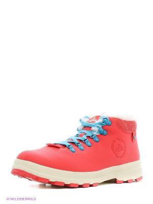 Ботинки ANTA. Цвет: красный