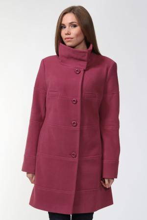 Пальто Exclusive. Цвет: брусничный