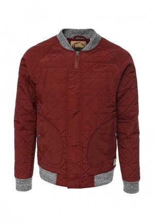 Куртка утепленная Запорожец Heritage. Цвет: бордовый