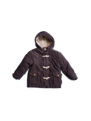 Куртка IDEXE. Цвет: коричневый