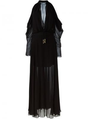 Платье Tellea La Mania. Цвет: чёрный
