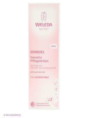 Деликатное молочко для тела 200 мл 8677 Weleda. Цвет: бледно-розовый