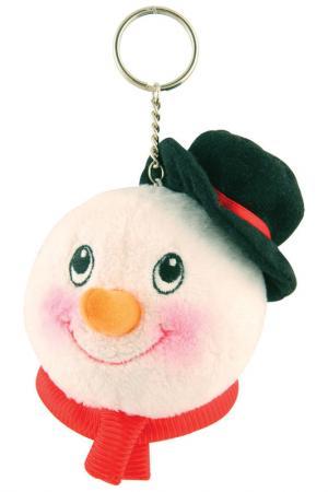 Брелок Снеговик Mister Christmas. Цвет: белый
