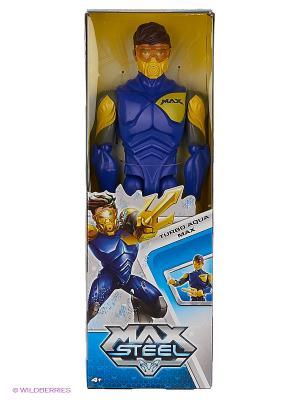 Фигурка с дополнительным оружием MAX STEEL. Цвет: синий, желтый