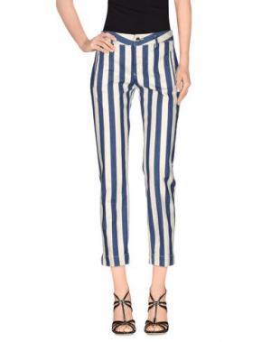 Джинсовые брюки KAOS JEANS. Цвет: темно-синий