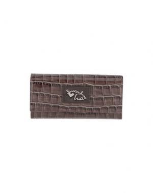 Бумажник TUA BY BRACCIALINI. Цвет: светло-коричневый