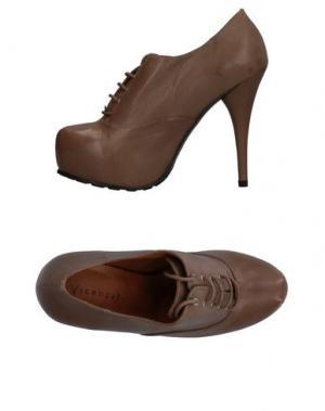 Обувь на шнурках VICENZA). Цвет: хаки