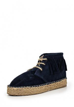 Ботинки Dino Ricci Trend. Цвет: синий