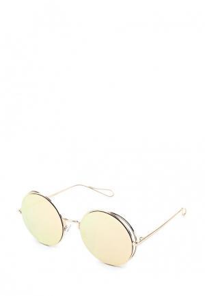 Очки солнцезащитные Aldo. Цвет: золотой