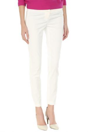 Укороченные брюки с застежкой на молнию Costume National. Цвет: 1, молочный