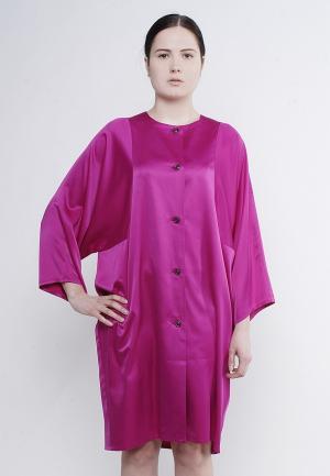 Платье Voielle. Цвет: фуксия