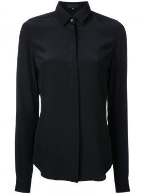 Рубашка с потайной застежкой Barbara Bui. Цвет: чёрный