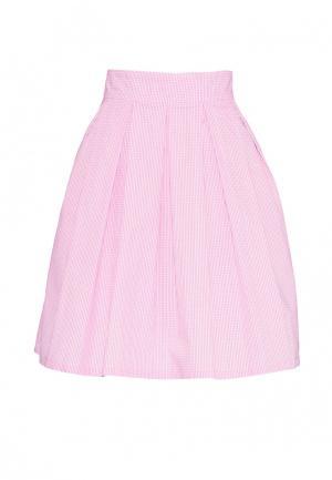 Юбка Emka. Цвет: розовый