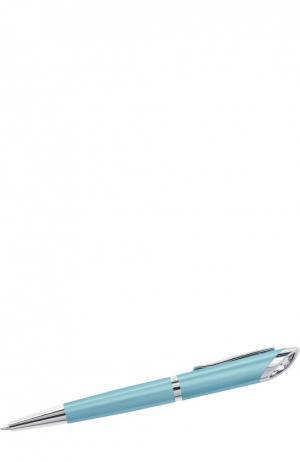 Шариковая ручка Crystal Starlight Swarovski. Цвет: голубой