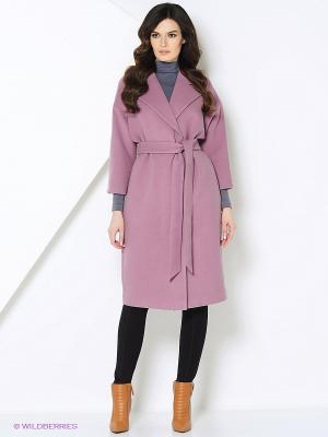 Пальто-oversize RUXARA. Цвет: фиолетовый