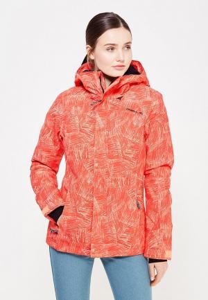 Куртка горнолыжная O`Neill. Цвет: оранжевый