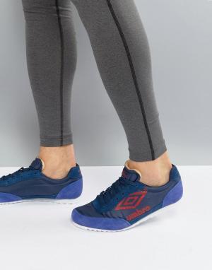 Umbro Замшевые кроссовки Ancoats. Цвет: фиолетовый