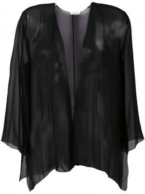 Легкий пиджак Halston Heritage. Цвет: чёрный