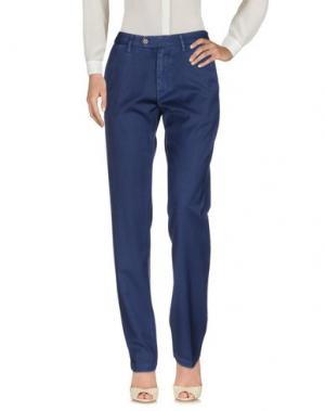 Повседневные брюки MYTHS. Цвет: темно-синий