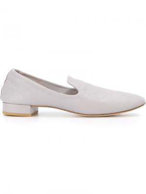 Cutout low heel slippers Repetto. Цвет: серый