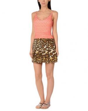 Пляжное платье VDP BEACH. Цвет: песочный