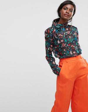 Essentiel Antwerp Рубашка с длинными рукавами Ofra. Цвет: красный