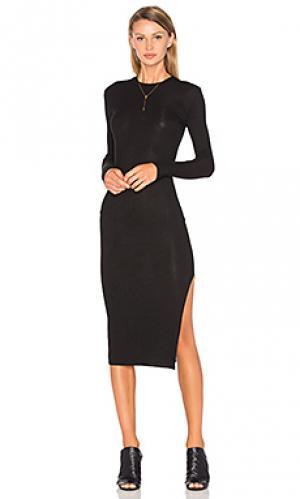 Платье midway Privacy Please. Цвет: черный