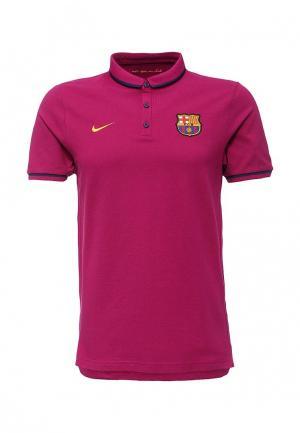 Поло Nike. Цвет: фиолетовый