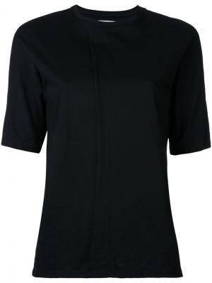 Классическая футболка 08Sircus. Цвет: чёрный