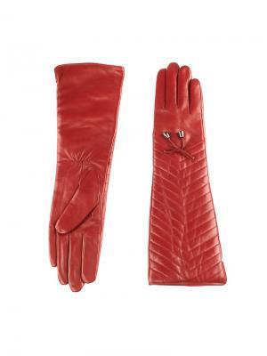 Перчатки женские Piero. Цвет: бордовый
