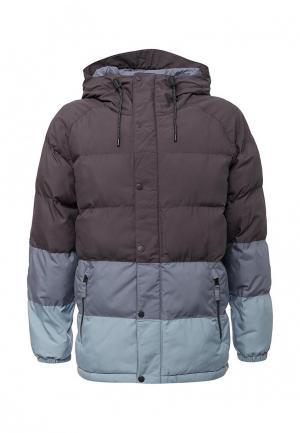 Куртка утепленная Burton. Цвет: серый