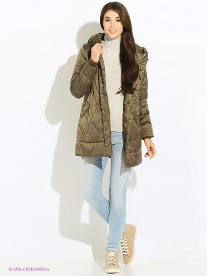 Куртка GEOX. Цвет: хаки
