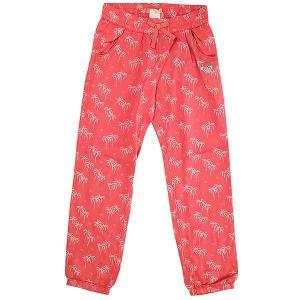 Штаны прямые детские  Not Homeloving Sugar Coral Palm Tin Roxy. Цвет: розовый